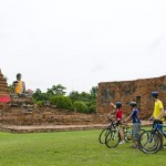 A antiga capital Ayutthaya