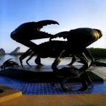Den unikke skulpturer af Krabi