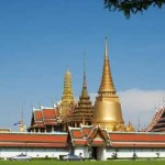 Grand Palace och Temple of the Emerald Buddha (Wat Phra Kaew)