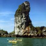 Shiva Lingam-Insel