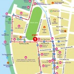 Map of Rattanakosin Walking Tour