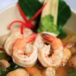 Tom Yam Kung (Hot and Sour Shrimp Soup)